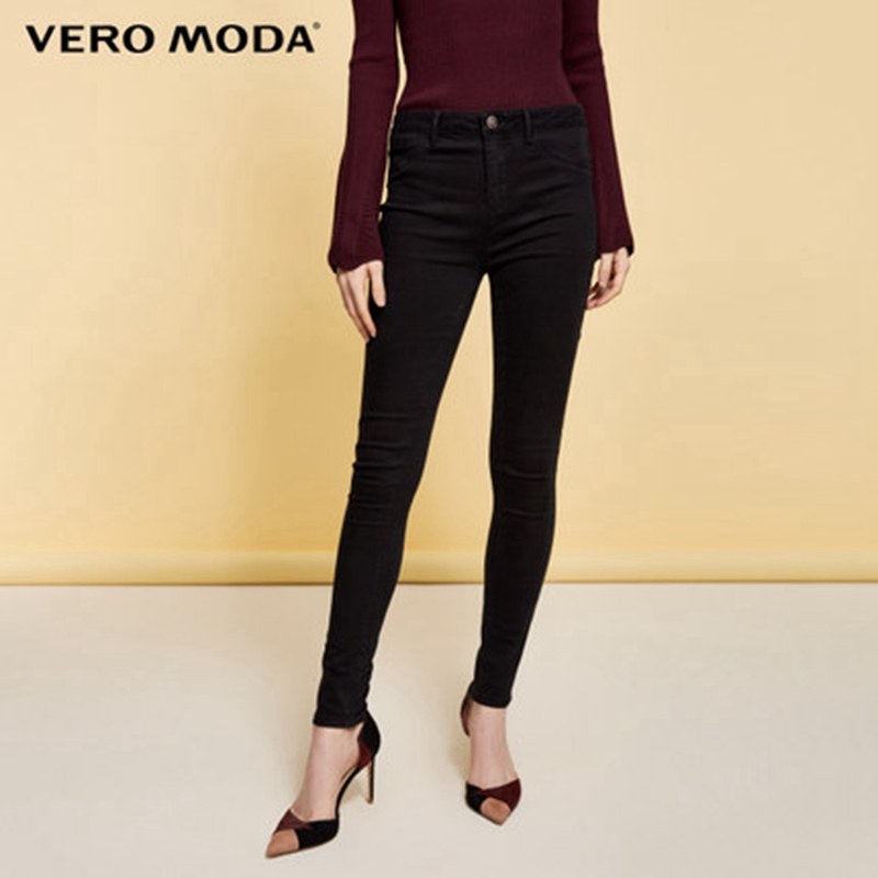 Vero Moda Women's Low-waist Cotton Skinny Cropped Jeans |317349566