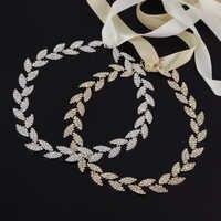 TOPQUEEN S198 в наличии Стразы с бриллиантами Бесплатная доставка красивый цвет женский свадебный ремень свадебный пояс Серебряная тонкая лента