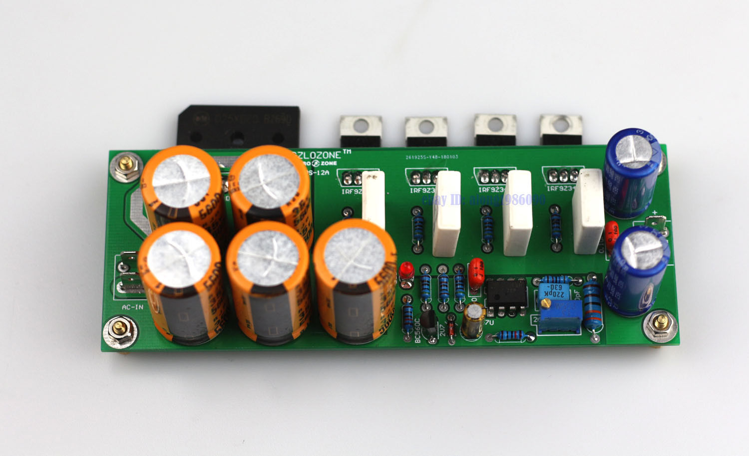 US $30 0 |ZEROZONE (DIY kit )Ultra low noise Linear power supply kit DC5  DC24V adjustable L6 25-in Amplifier from Consumer Electronics on