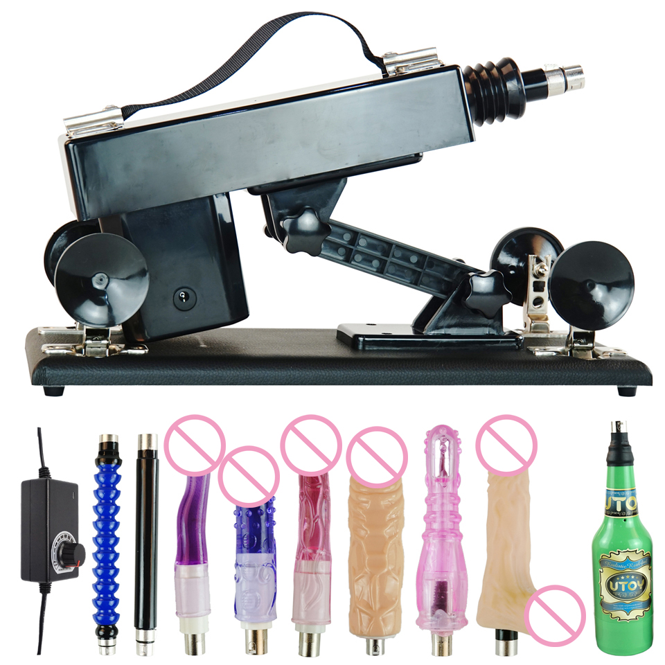 Fredorch Free 6 <font><b>Dildos</b></font> <font><b>Unisex</b></font> Masturbation Sex Machine Automatic Thrusting Machine Vibrator Attachment for Man and Women image
