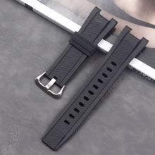 Resin strap men's watch buckle accessories Casio wristband GST-S130 S110 S100 W130L W100 W110 210 ladies sports waterproof strap цена в Москве и Питере