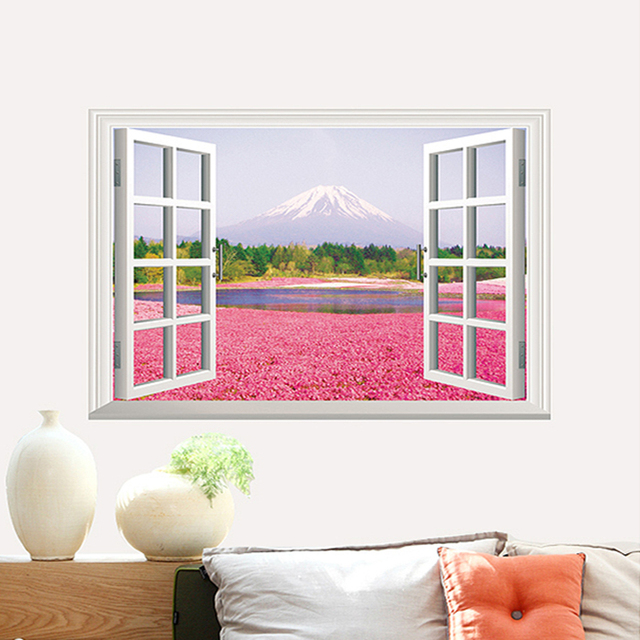 Aliexpress.com : Buy 3D stereoscopic picture windows pattern wall ...