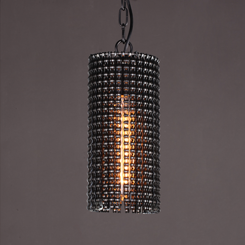 Modern Vintage Industrial Pendant Lights E27 Bulb Retro Loft Black Metal Hanging Lamp Restaurant Kitchen Lighting Fixture PL670