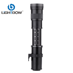 Image 3 - Lightdow 420 800mm F/8.3 16 Super Telephoto Lens Manual Zoom Lens +T2 Adaper Ring for Canon  DSLR Cameras EF EF S Mount Lens