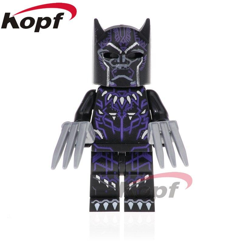 Single Sale Super Heroes Black Panther Pepper Potts Ebony Maw Doctor Strange Building Blocks Education Toys Children Gift PG1566