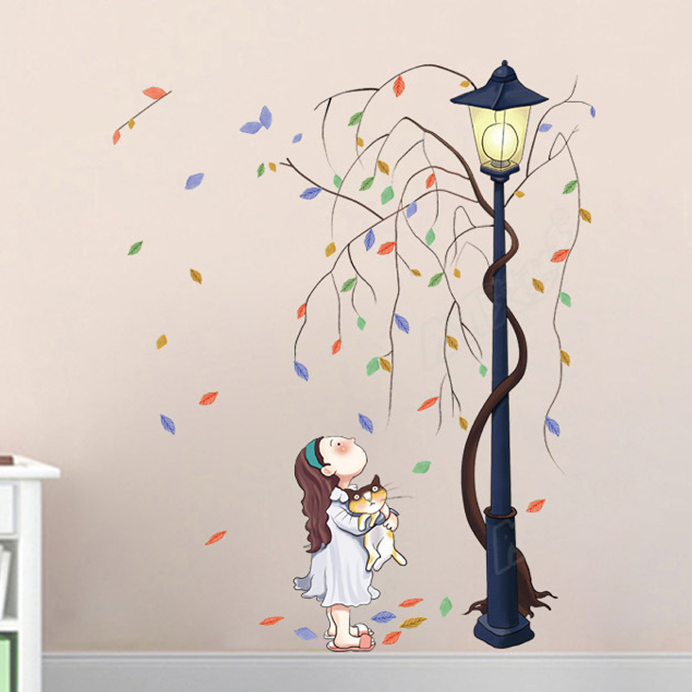 Popular Lamp Wall Decal-Buy Cheap Lamp Wall Decal lots from China ...