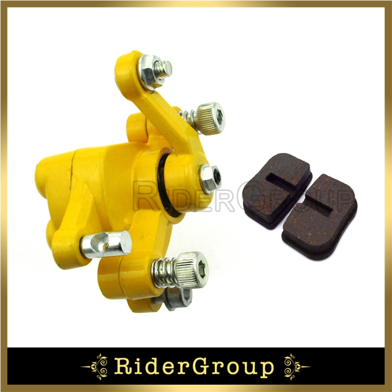 US $10 2 18% OFF Yellow Rear Disc Brake Caliper For 97cc Mini Bike BAJA  DoodleBug DB30 DB30S DB30R-in Brake Disks from Automobiles & Motorcycles on