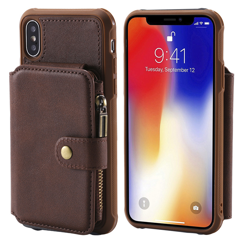 NEW Business Wallet Anti fall Phone Cases For Apple iphone
