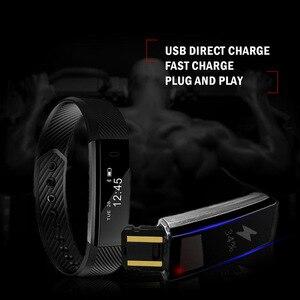 Image 5 - TK47 Intelligente Wristband Inseguitore di Fitness Band Bluetooth Sonno Monitor Della Vigilanza di Sport Del Braccialetto per ios Telefono Android pk Fit Bit Mi 2
