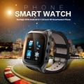 Ourtime x01s smartwatch android telefone bluetooth smart watch 1.3 ghz dual core IP67 GPS Cam Assistir 1G 8G Freqüência Cardíaca 600 mAh 3G Wi-fi