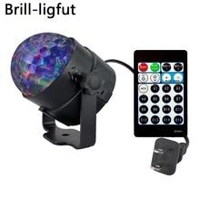2018 Neue 9W 15 Farben Aurora Laser Licht Projektor Bühne Beleuchtung Wirkung RGBW LED Wasser Welle Party Dance Disco DJ Urlaub Lichter