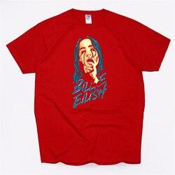 Billie Eilish Streetwear T Shirt MĘSKA KOSZULKA 100% bawełna miękka Tshirt Homme mody piosenkarka Harajuku koszula mężczyźni/kobiety Poleras 2019 3