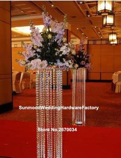 Customized acrylic crystal wedding columns/mandap/pillars for sale ...