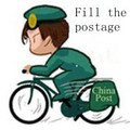 Fill the postage