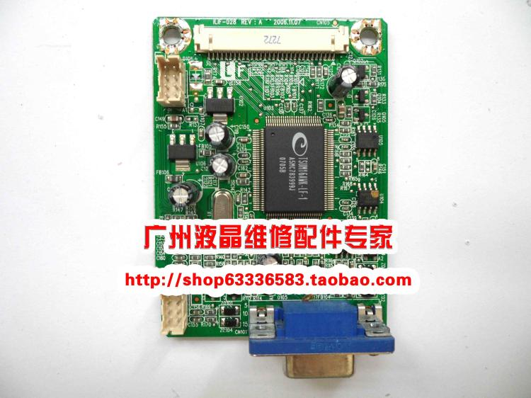 Free Shipping>Original 100% Tested Working   FP71GX motherboard ILIF-028 490861300100R driver board free shipping original 100% tested working vx1932wm led drive plate ilif 076 491311300100r motherboard