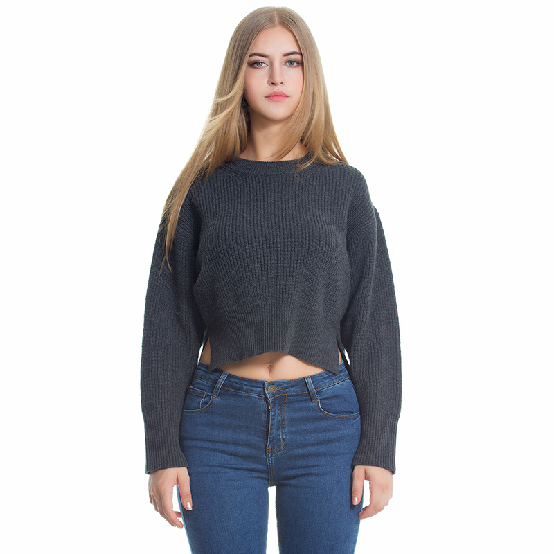 Sweaters Women 2017 Pullovers Autumn Winter Backless Christmas Knitted Striped Top Oversized Fall Fashion Womens Female Cape