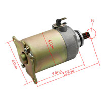 Motorcycle Accessories Fuel Boat Electric Starting Motor 125 GY6 125 Starter Pedal Motorcycle Starting Motor