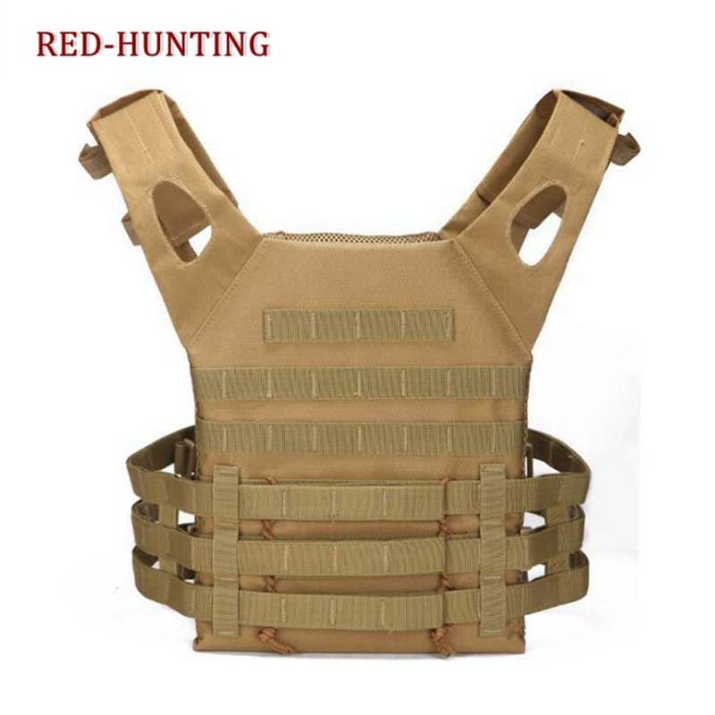Military Equipment Tactical Vest Paintball Hunting Vests Tactical Airsoft Vest Outdoor Sport CS Wargame Combat Carrier Vest