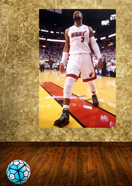 NBA Poster wall mural sports posters Dwyane Wade Dream team Poster ...