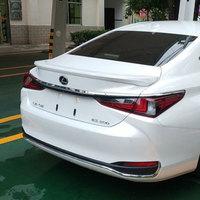 AITWATT For Lexus ES200 ES260 Spoiler 2018 2019 Auto ABS Plastic Unpainted Color Rear Trunk Wing Lip Spoiler Car Accessories