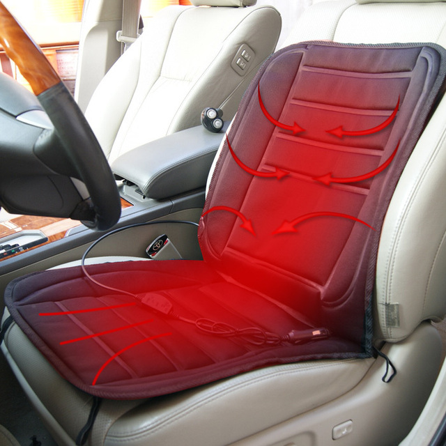 hot Car heated seat cushion 12v heated car cushion single seat cushion heated pad winter car supplies