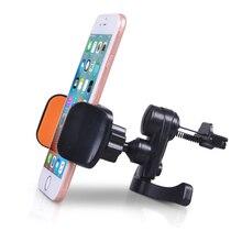 Soporte Universal para teléfono móvil con soporte Universal para teléfono inteligente de 360 grados soporte Flexible para ventilación de coche