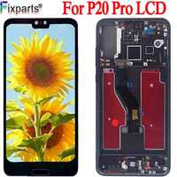 TFT Black For Huawei P20 Pro LCD Display Screen Touch Panel Digitizer P20 Pro CLT-AL01 Lcd With Touch Screen P20 Plus Display