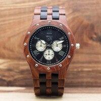 TJW Wood Watch Mens Watches Top Brand Luxury Role Luxury Watch 2017 Luxury Brand Sport Watch Relogio Masculino TT@88