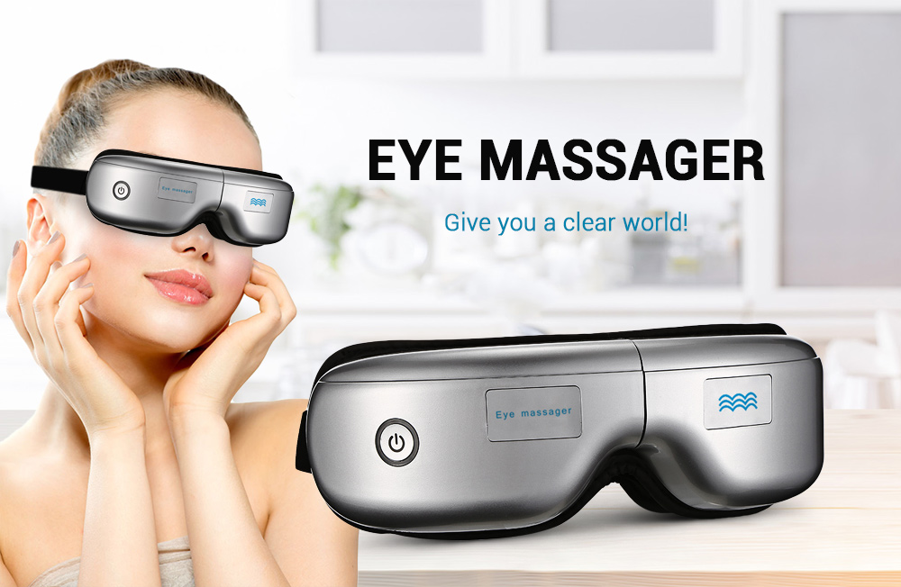 Eye massage SPA Instrument Electric Air pressure Eyes massager Wireless Vibration Magnetic Heating Therapy massage