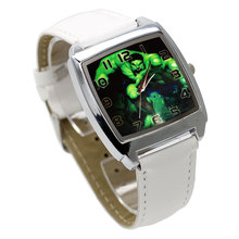 Fashion movie characters cartoon Hulk children's watch 3D leather quartz large d