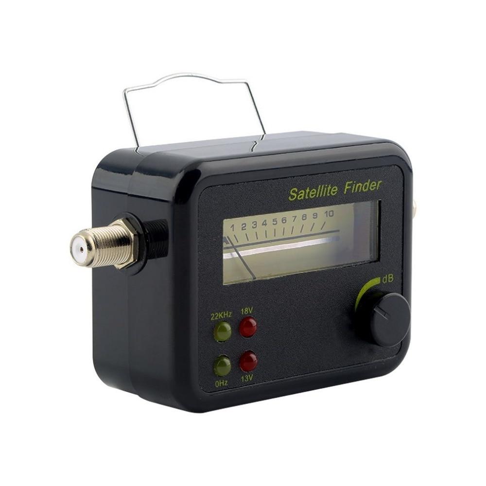 GSF9504 Digital LCD Display Satellite Signal Finder Meter Tester With Excellent Sensitivity original dvb t satlink ws 6990 terrestrial finder 1 route dvb t modulator av hdmi ws 6990 satlink 6990 digital meter finder