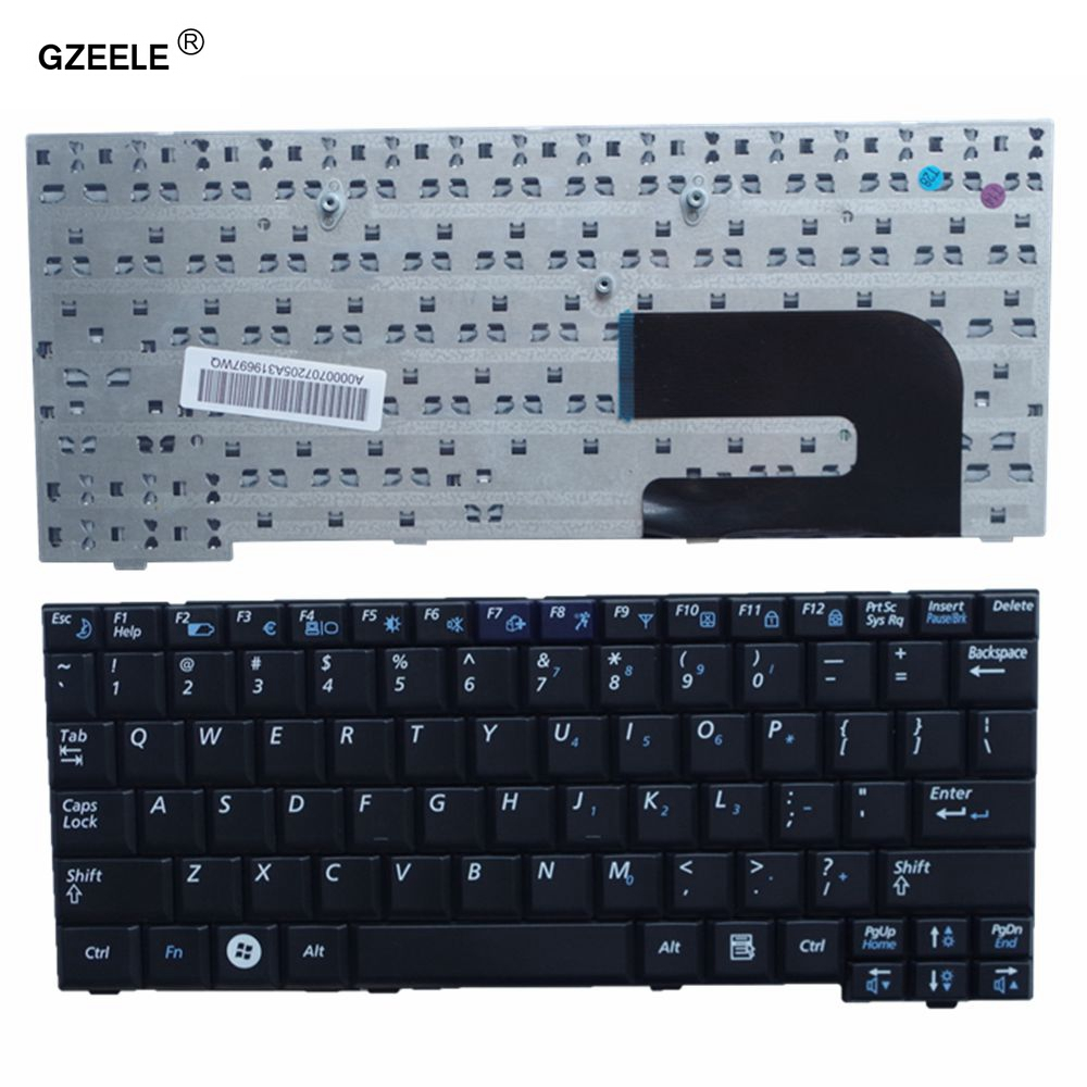 GZEELE New Laptop Keyboard For Samsung NC10 ND10 N108 NC310 N110 NP10 N140 N130 N128 Keyboard US Black English Hot Selling
