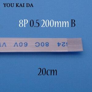 Image 2 - Гибкий кабель FFC FPC для ASUS A55V K55V, Новый гибкий кабель с тачпадом, длина 20 см, 8 Pin, 0,5 мм, Шаг 8 Pin, тип B, 1 4 шт.