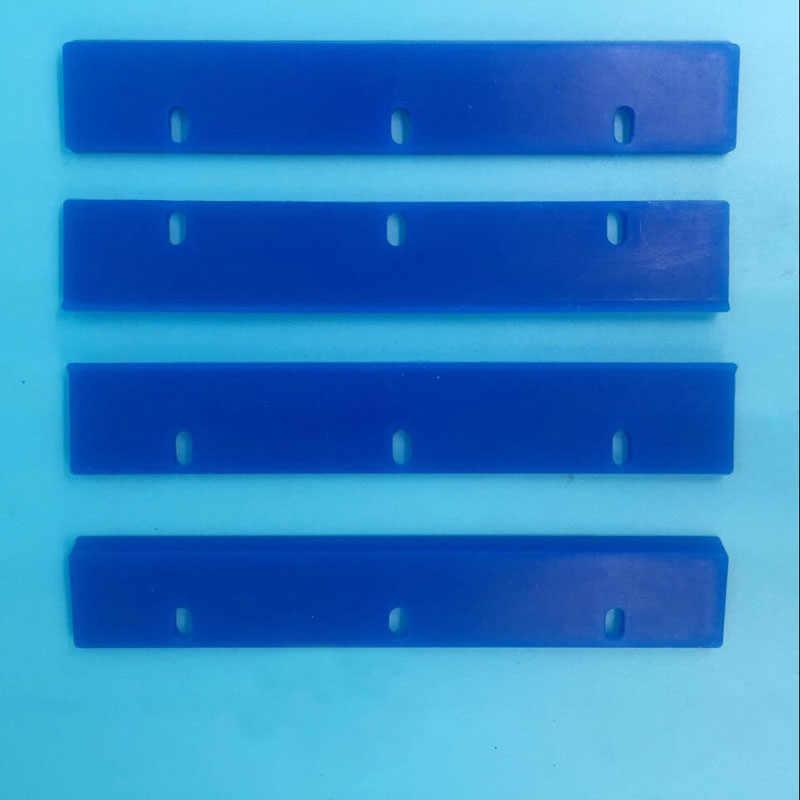 5 sztuk/partia w starjet gumowa wycieraczka dx7 głowicy drukującej wycieraczki ostrza dla platforma uv drukarki dwie głowy dx5 dx7 5113 do czyszczenia głowic wycieraczki 12cm