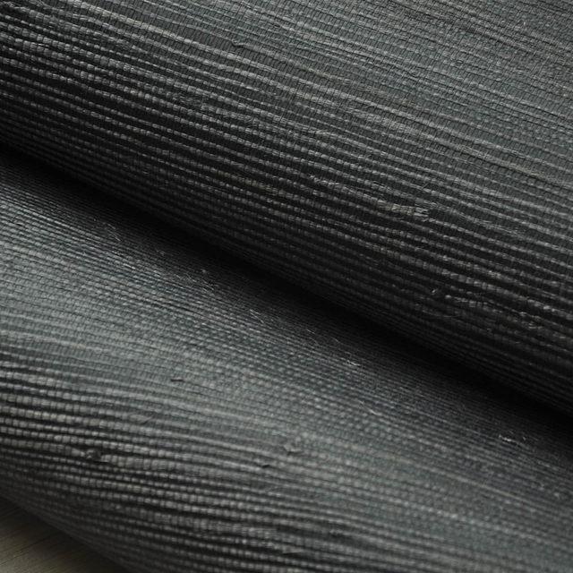 online shop real grass deep navy blue grasscloth wall paper textured