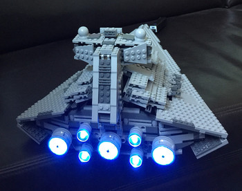 LED light up kit for 75055 Compatible with 05062 The Imperial Super Star Destroyer (only light included) image