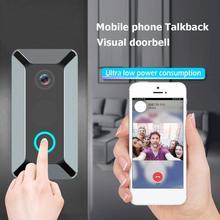 V6 hd 720pビデオドアのベルワイヤレスwifiスマートドアベル防水ipドアチャイム視覚インターホン家庭用セキュリティカメラ