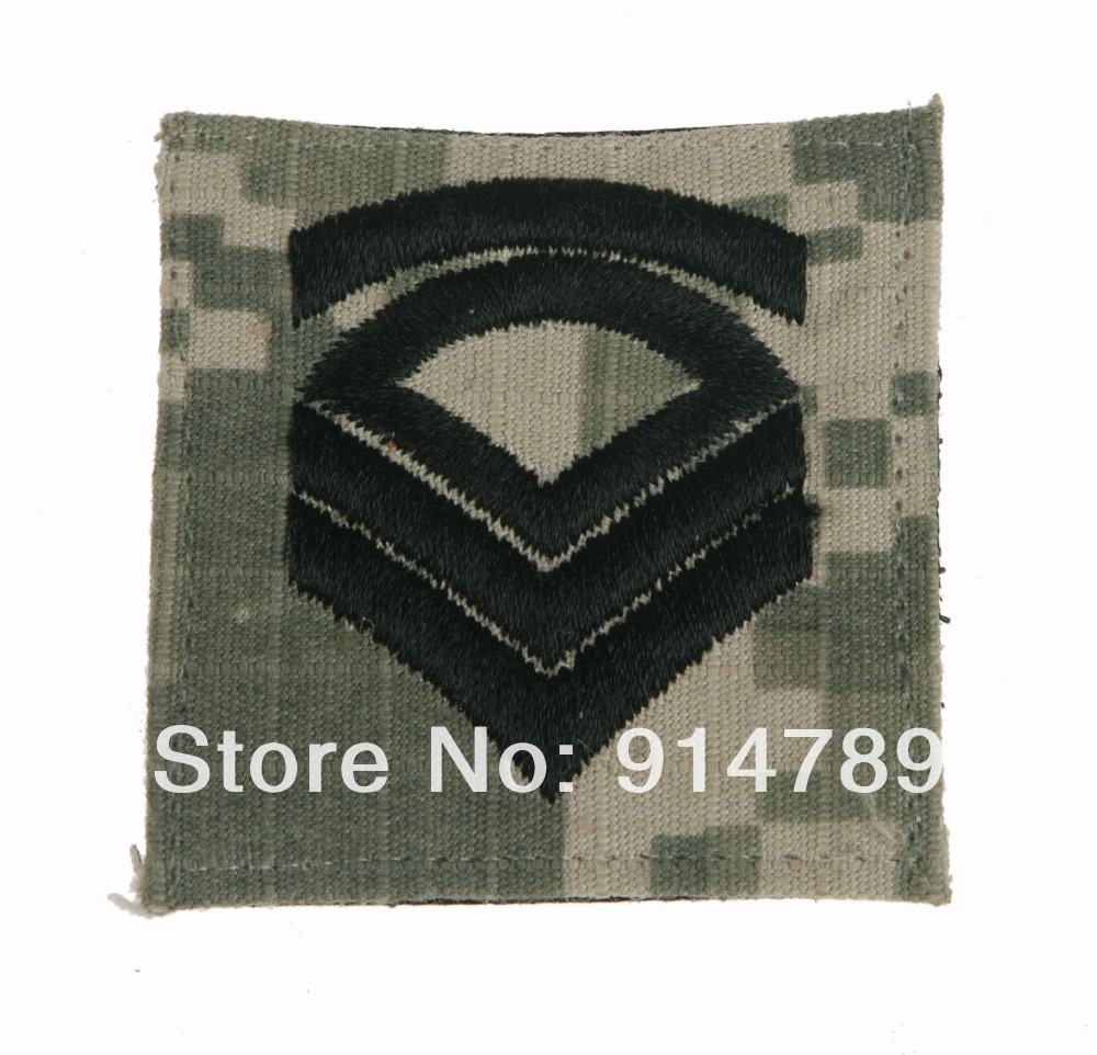 US ARMY SERGEANT FIRST CLASS ACU  PATCH -33945