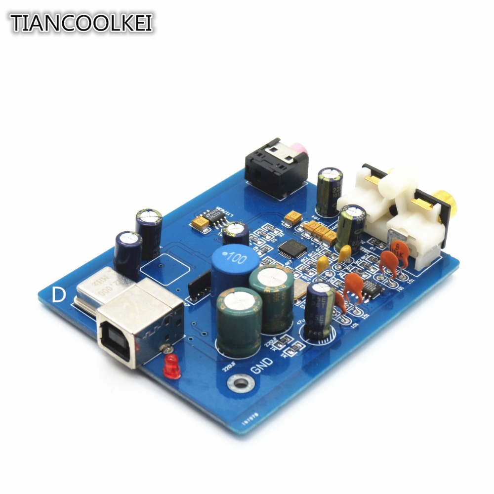 diy audio decoder hifi es9018k2m sa9023 usb dac decoder. Black Bedroom Furniture Sets. Home Design Ideas
