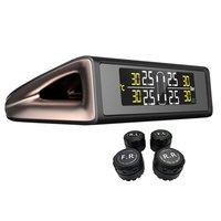 Car solar TPMS External Sensor Tire Pressure Monitor Wireless Tire Pressure Monitoring Alarm System
