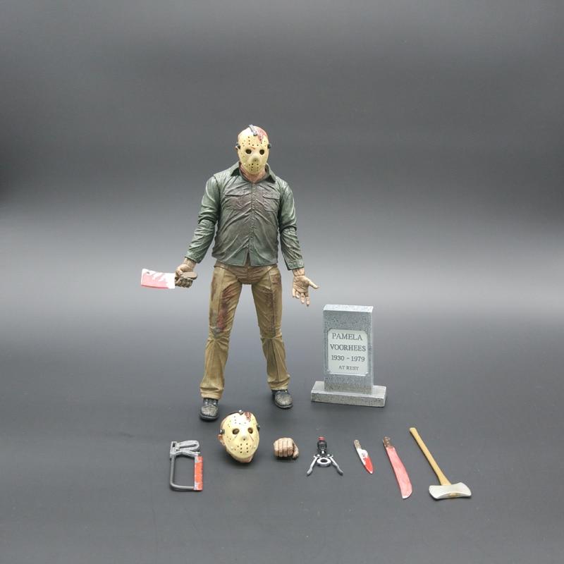 Vendredi Le 13E Le Dernier Chapitre Freddy Vs Jason Action Figure Jouet Collection Enfants Jouets De Noël Cadeaux D'anniversaire 17 cm