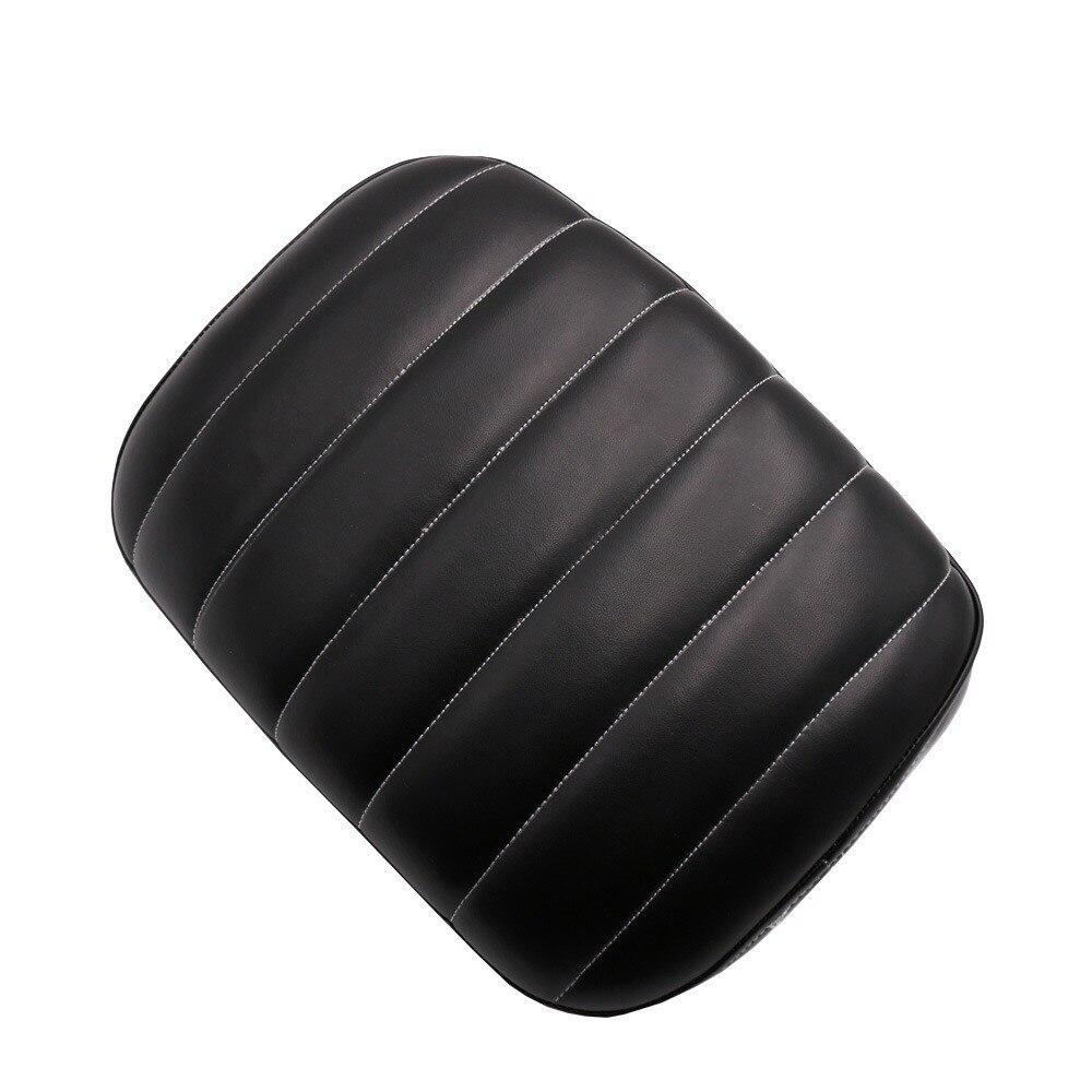 Перекрестная мотоциклетная задняя Пассажирская подушка для сидения на заднем сидении присоски для Harley/Dyna/Sportster/Softail Touring