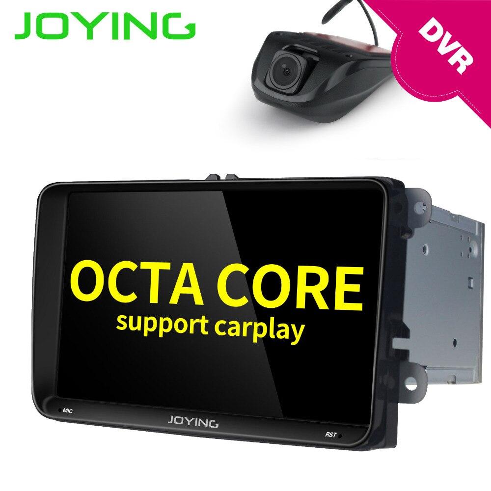 US $339 99  JOYING HD 9'' android 8 0 car head unit for VW Jetta Polo 2 din  2GB car radio for Skoda Rapid Fabia with free DVR front camera-in Car