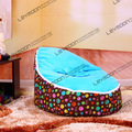 FREE SHIPPING bean bag cover with 2pcs sky blue up cover baby bean bag chairs waterproof baby bean bag baby seat cover