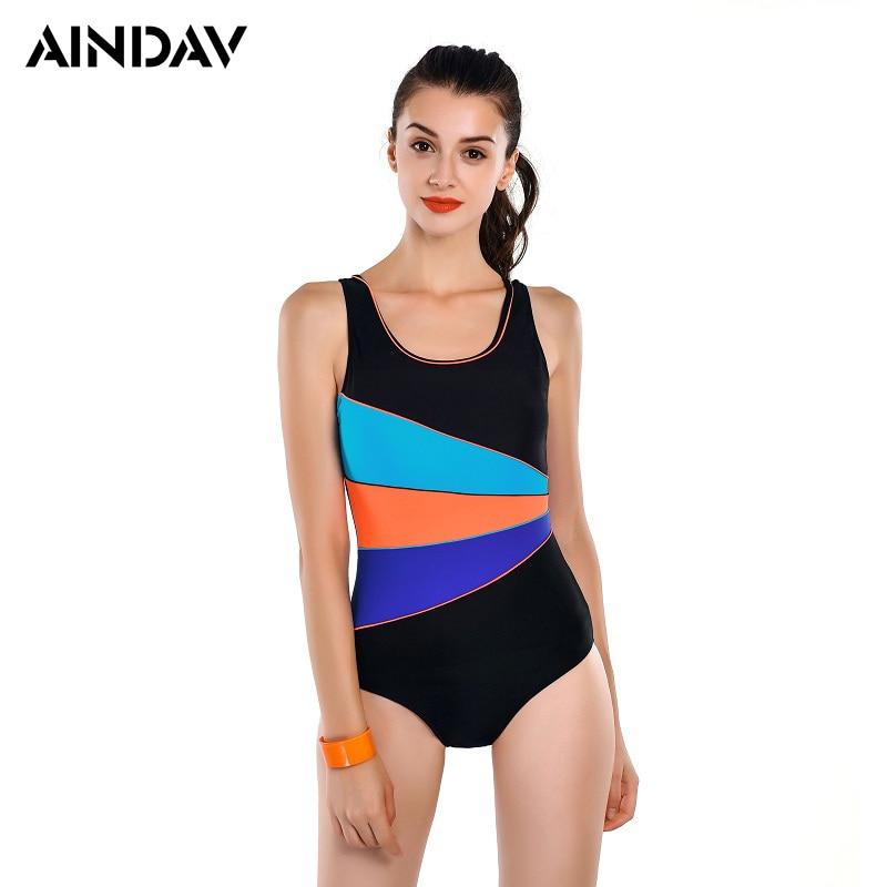 Professional Sports Bathing Suit Racing Swimwear Women One Piece Swimsuit Slim Bodysuit Arena Swimming Suit Badpak Sport Suit(China)