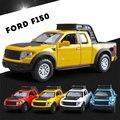 Ford F150 Raptor Автомобиль Пикап 1:32 Сплава Автомобиля Моделирование Изысканный Модель Сплава Игрушка Металла Автомобилей акустооптическая brinquedo menino