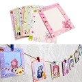 Novo 9 pçs/set 6 polegada de Animal bonito papel de parede moldura para fotos shipping-Y102