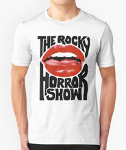 THE ROCKY HORROR SHOW T SHIRT LIPS Harajuku Tops t shirt Fashion Classic Unique free shipping High Quality Casual Printing