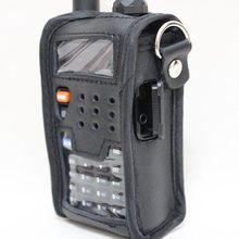 Radio Leder Pouch Soft Case Zubehör Für Walkie Talkie BAOFENG UV-5R UV-5RA UV-5RE UV-5RG telsiz(China)
