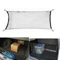 Universal Carro Carga Trunk Net Malha de Armazenamento Organizador com Parafuso De Montagem para volvo s60 s70 s80 s90 v50 v60 v90 xc60 xc70 XC90